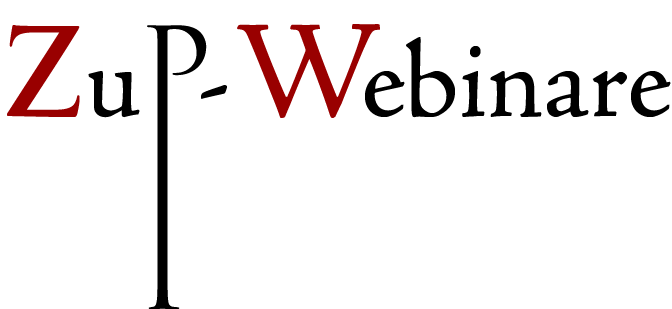 Zup-Webinare